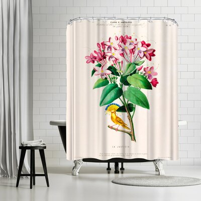 New York Botanical Garden Flored Amerique Lajusticia Shower Curtain