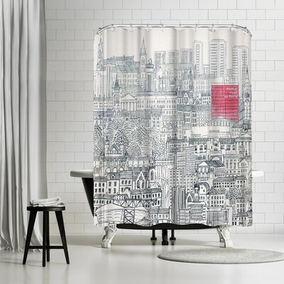 David Fleck People Make Glasgow Shower Curtain