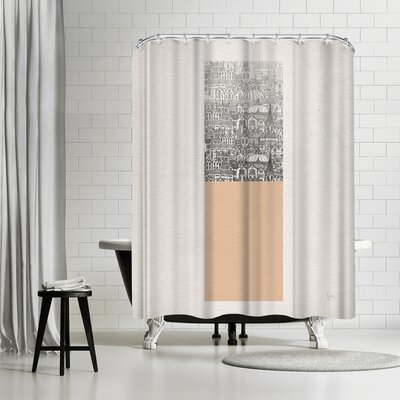 David Fleck Rectangle Shower Curtain