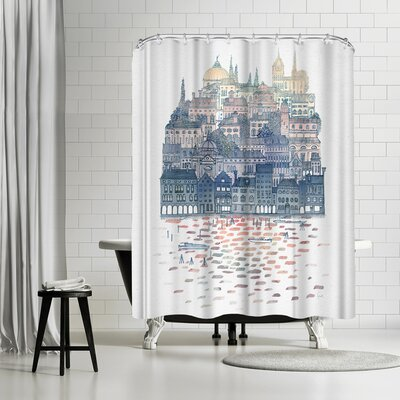 David Fleck Serenissima Shower Curtain