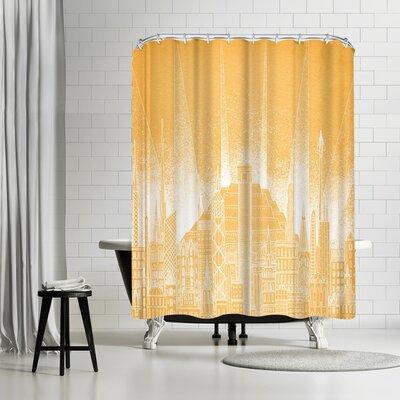 David Fleck Sun Shower Curtain