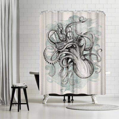 David Fleck The Baltic Sea Shower Curtain
