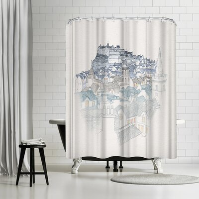 David Fleck The Outsider Shower Curtain