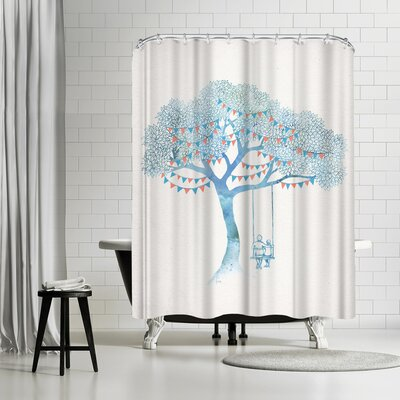 David Fleck The Start of Something Shower Curtain