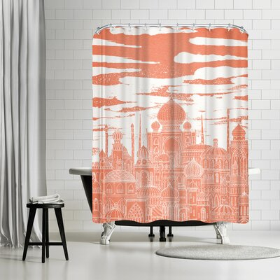 David Fleck Venus Shower Curtain
