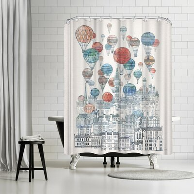 David Fleck Voyages Over Glasgow Shower Curtain