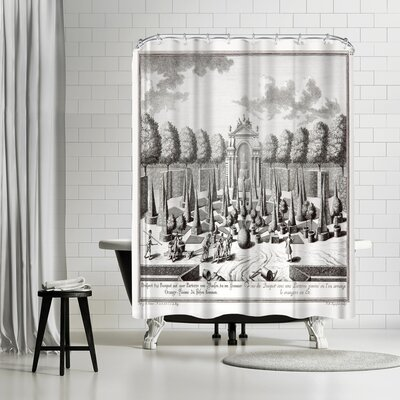 New York Botanical Garden Sculps Fmregenfus Shower Curtain