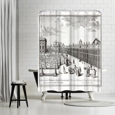 New York Botanical Garden Sculps Gdheuman Shower Curtain
