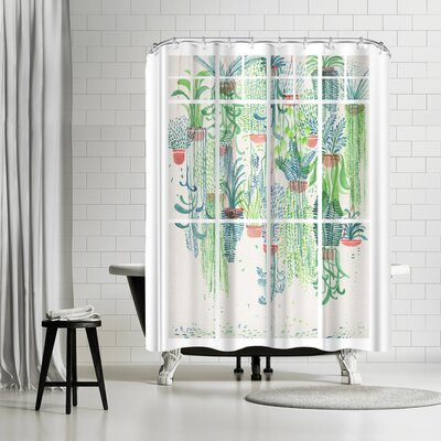 David Fleck Winter in Glasshouses Shower Curtain