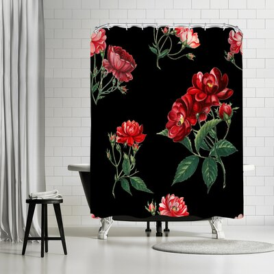 New York Botanical Garden Mini Rose Shower Curtain
