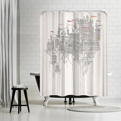 David Fleck Zenobia Shower Curtain