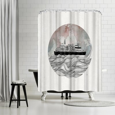 David Fleck Almost Home Shower Curtain