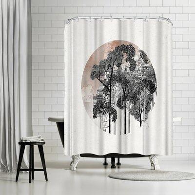 David Fleck Crux Shower Curtain