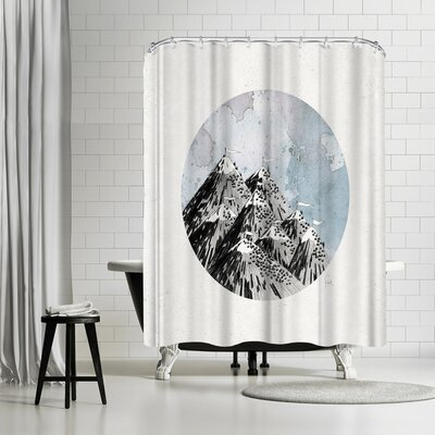 David Fleck How Many Roads Shower Curtain