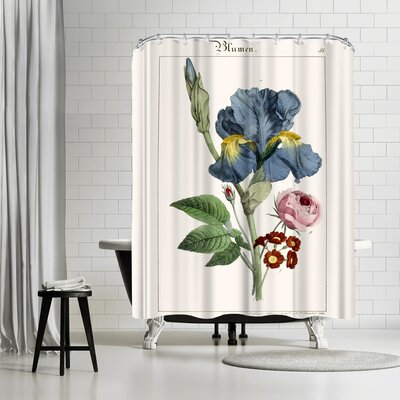 New York Botanical Garden Blumen Shower Curtain