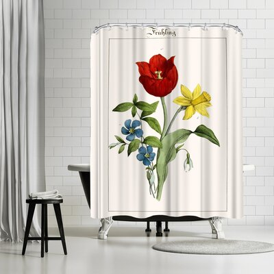 New York Botanical Garden Fruhling Shower Curtain