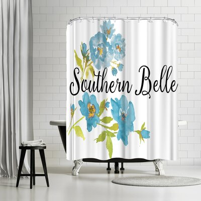 Edith Jackson Southern Belle Shower Curtain