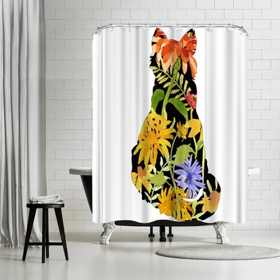 Edith Jackson My Garden Shower Curtain