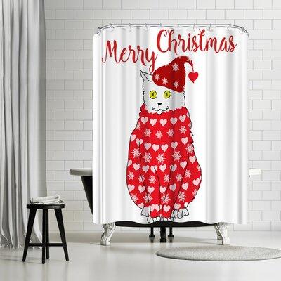 Edith Jackson Little Cap Shower Curtain