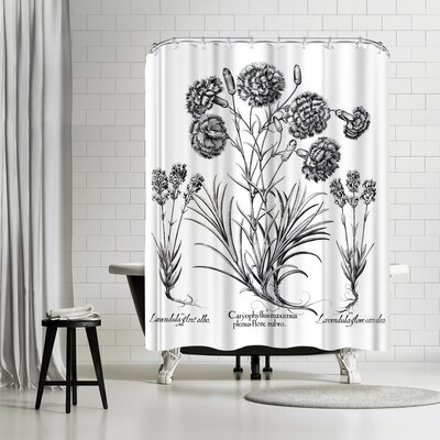 New York Botanical Garden Besler Shower Curtain