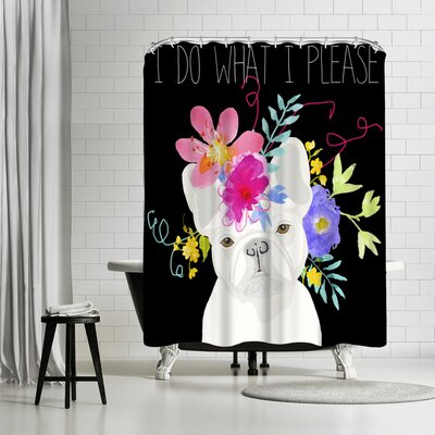 Edith Jackson I do What I Please Shower Curtain