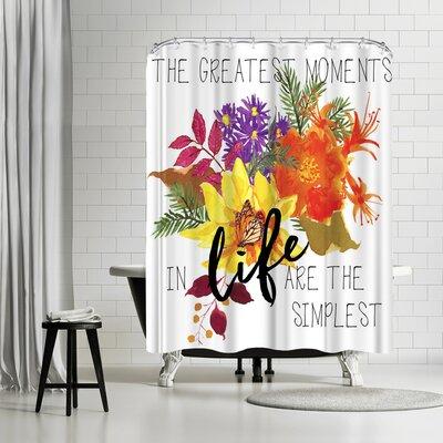 Edith Jackson The Greatest Moments Shower Curtain