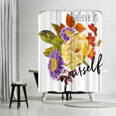 Michael Creese Belive in Yourself Shower Curtain