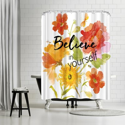 Edith Jackson Belive Shower Curtain