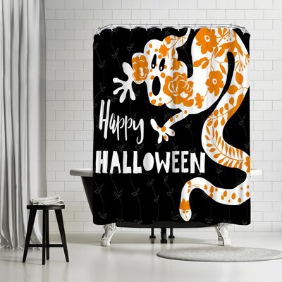 Edith Jackson Ghost Shower Curtain