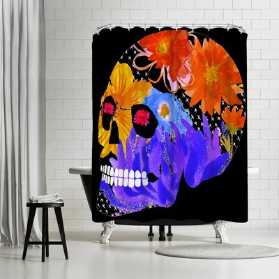 Edith Jackson Ruby Eyes Shower Curtain