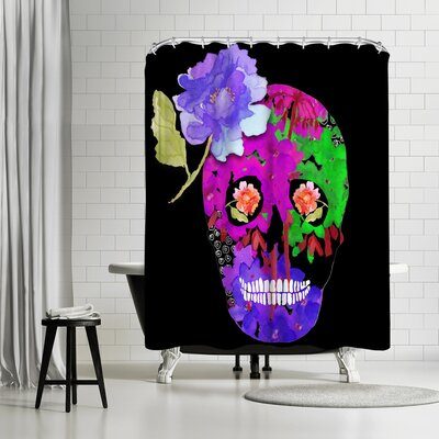 Edith Jackson Knight Shower Curtain