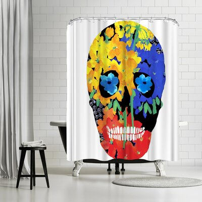 Edith Jackson Old Eyes Shower Curtain