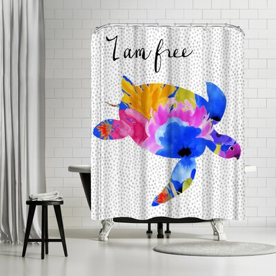 Edith Jackson Free Shower Curtain