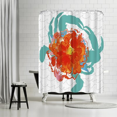 Edith Jackson Deception Shower Curtain