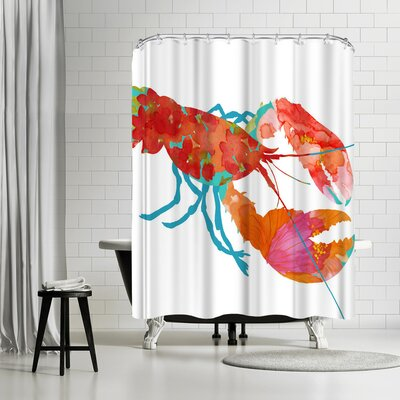 Edith Jackson Wow Shower Curtain