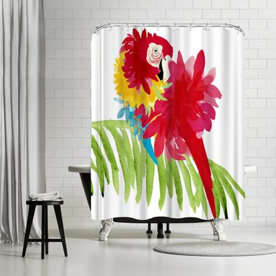 Edith Jackson Hot Shower Curtain