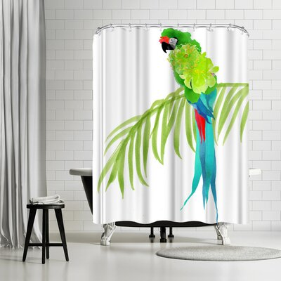 Edith Jackson Envy Shower Curtain