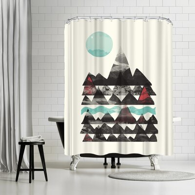 NDTank Ascend Shower Curtain