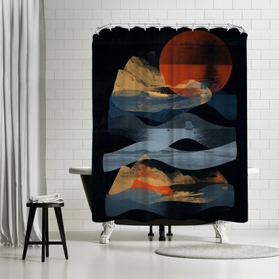 NDTank Descend Shower Curtain