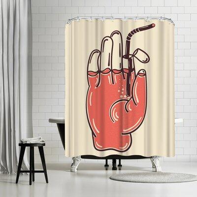 NDTank Drink Up Shower Curtain