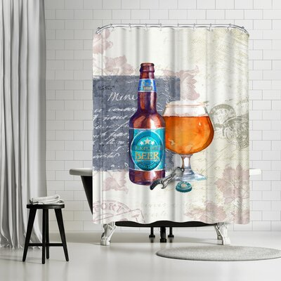 Harrison Ripley Beer Shower Curtain