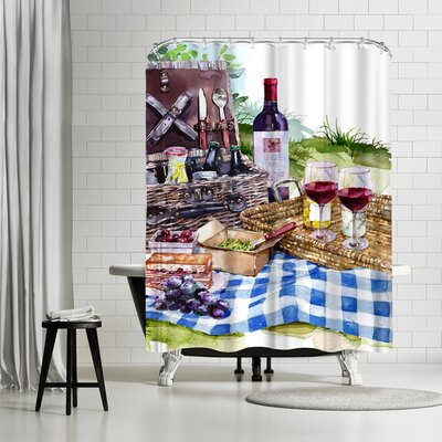 Harrison Ripley Picnic Shower Curtain