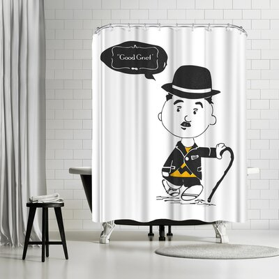 NDTank Have You Met Charlie Shower Curtain