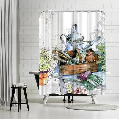 Harrison Ripley Vintage Garden Shower Curtain