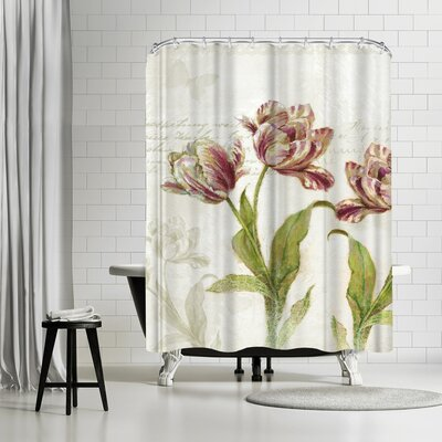 Harrison Ripley Vintage Tulips Shower Curtain
