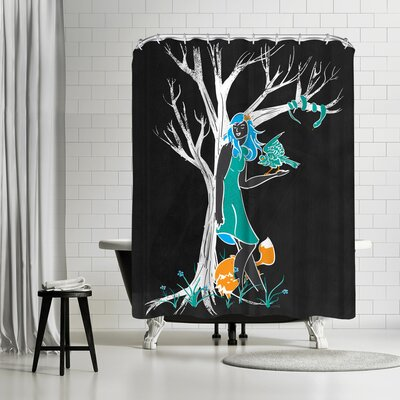 NDTank Keeper of the Wood Shower Curtain