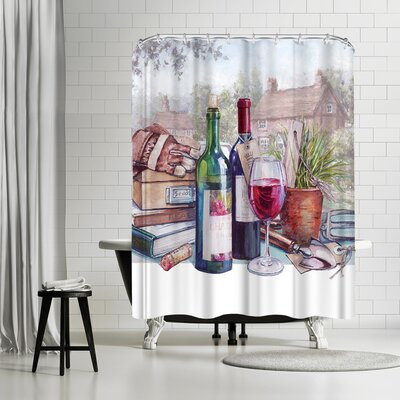 Harrison Ripley A Glass Shower Curtain