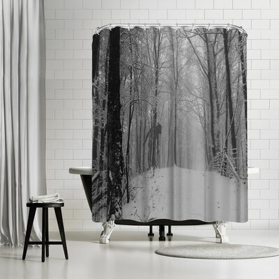 NDTank Lonely Shower Curtain