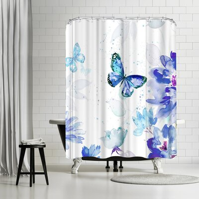 Harrison Ripley Butterflies Shower Curtain