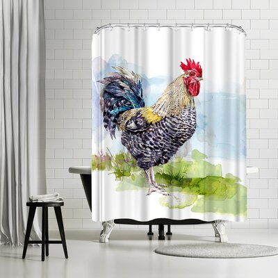 Harrison Ripley Cockerel Shower Curtain